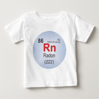 Radon Individual Element of the Periodic Table Baby T-Shirt