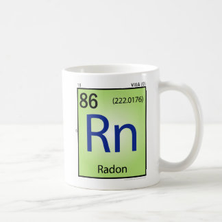 Radon (Rn) Element Mug