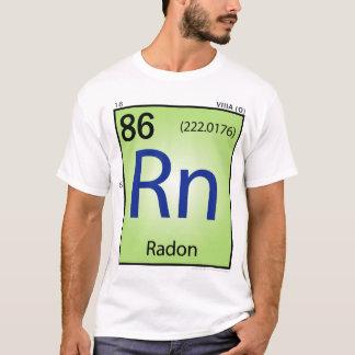 Radon (Rn) Element T-Shirt - Front Only