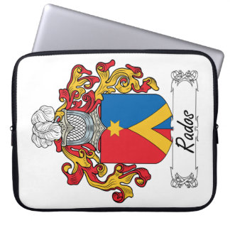 Rados Family Crest Laptop Sleeve