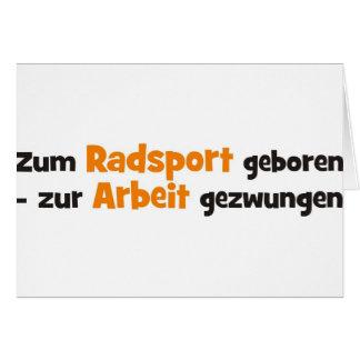 Radsport Card