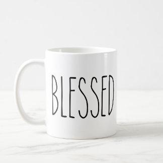 RAE DUNN Inspired Blessed Mug