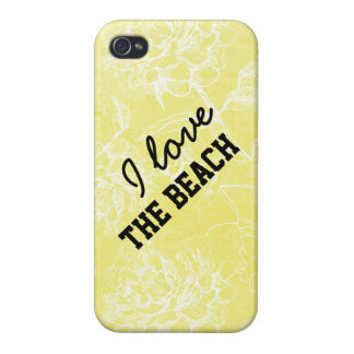 Rae: I love the beach floral iPhone 4 Case