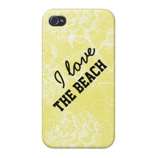 Rae: I love the beach floral iPhone 4 Case