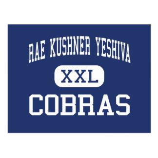 Rae Kushner Yeshiva - cobras - alto - Livingston Tarjetas Postales