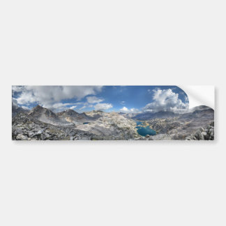 Rae Lakes from Painted Lady - John Muir Trail Bumper Sticker