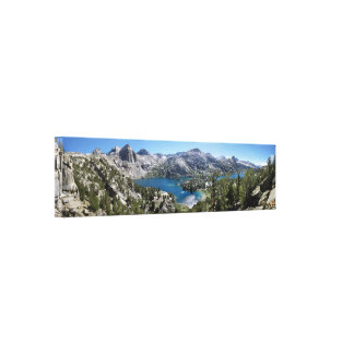 Rae Lakes - John Muir Trail - Kings Canyon Canvas Print