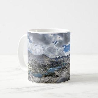 Rae Lakes Panorama from Fin Dome - John Muir Trail Coffee Mug