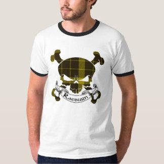 Raeburn Tartan Skull T-Shirt