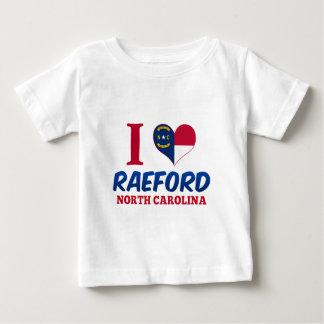 Raeford, Carolina del Norte Playera Para Bebé