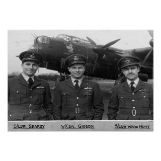 RAF - Gibson, Searby, Ward-Hunt Poster