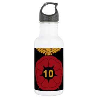 RAF Patch 10 Air Experience Flight AEF Crest Patch Stainless Steel Water Bottle