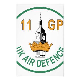RAF Patch 11 Group GP UK Air Defence Phantom Torna Stationery Design