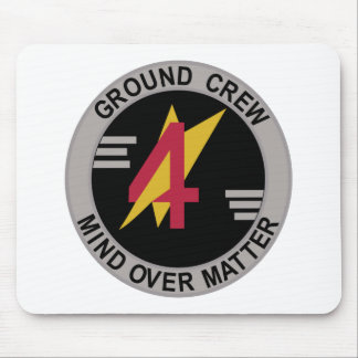 RAF Patch 4 Squadron Ground Crew Patch Harrier GR Mousepad