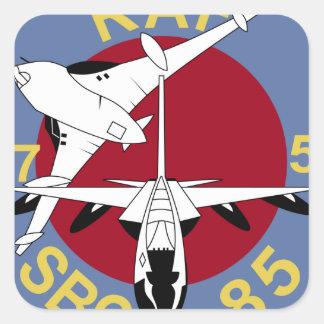 RAF Patch 57 27 Squadron SBC 85 Victor Tornado Square Stickers
