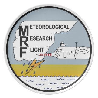 RAF Patch Meteorological Research Flight MRF Hercu Party Plates