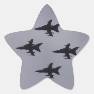 RAF Tornados Star Sticker