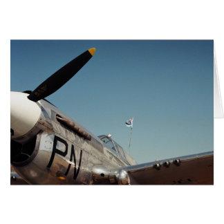 RAF WW2 Fighter Plane Card