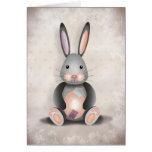 Rafael el conejo del remiendo - tarjeta de felicit