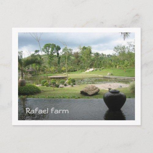 Rafael Farm postcard