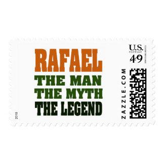 RAFAEL - the Man, the Myth, the Legend Postage