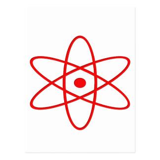 Ráfaga atómica postales