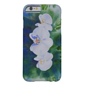 Ráfaga de la orquídea funda barely there iPhone 6