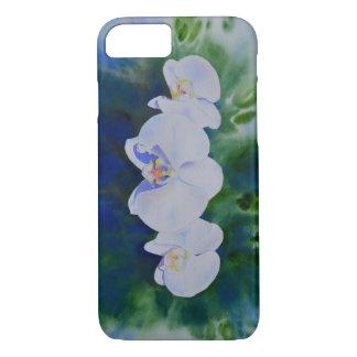 Ráfaga de la orquídea funda iPhone 7