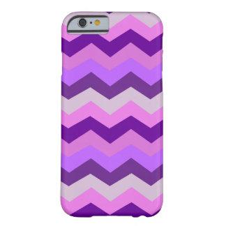 Ráfaga de la púrpura de Chevron Funda Barely There iPhone 6