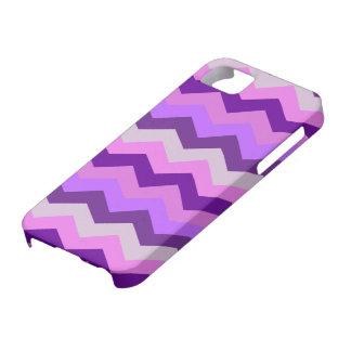 Ráfaga de la púrpura de Chevron Funda Para iPhone SE/5/5s