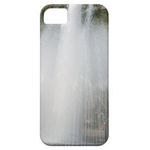 Ráfaga del agua iPhone 5 carcasas