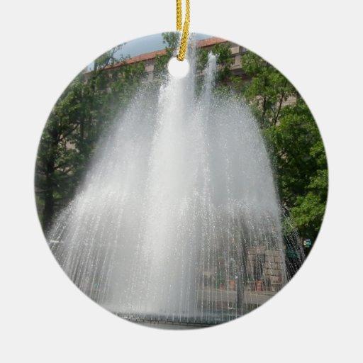 Ráfaga del agua ornato