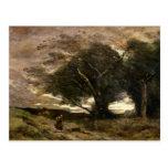 Ráfaga del viento, 1866 tarjeta postal