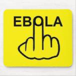 Ráfaga Ebola de Mousepad Tapete De Ratón