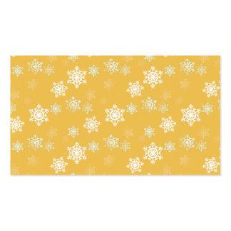 Ráfagas amarillas y blancas del resplandor de la tarjetas de visita