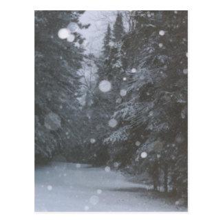 ráfagas del invierno postales