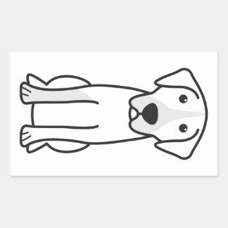 Rafeiro do Alentejo Rectangular Sticker