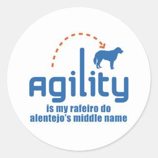 Rafeiro do Alentejo Classic Round Sticker