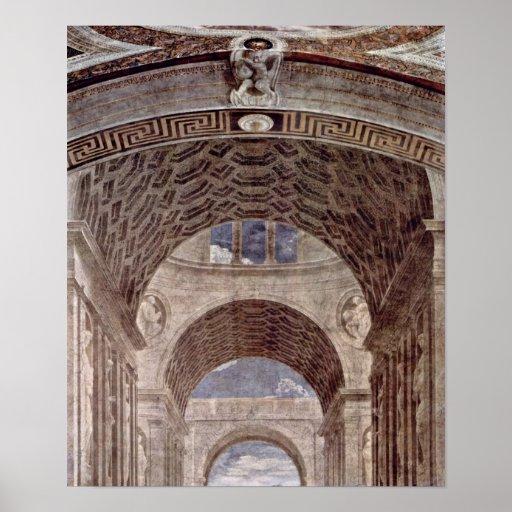 Raffael - escuela del detalle de Atenas: Arquitect Impresiones