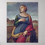 Raffael - St Catherine de Alexandría Impresiones