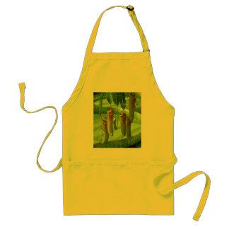 Raffelesia, an exotic tropical plant apron