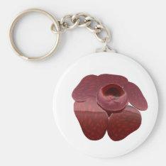 Rafflesia Keychain at Zazzle