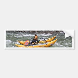 Raft, Animas River, Colorado, USA Bumper Sticker