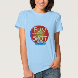 Raft-N-Rest Babydoll Fun Spot T T-Shirt