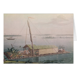 Raft on the Guayaquil River Card