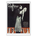 Raftero Vintage Songbook Cover Card