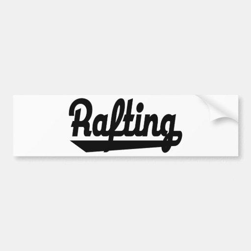 rafting bumper stickers