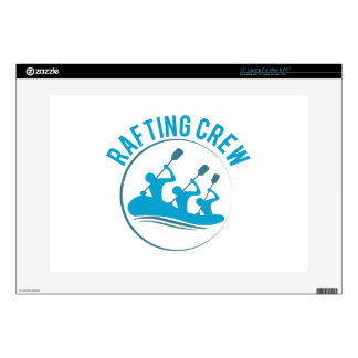 Rafting Crew Decals For Laptops