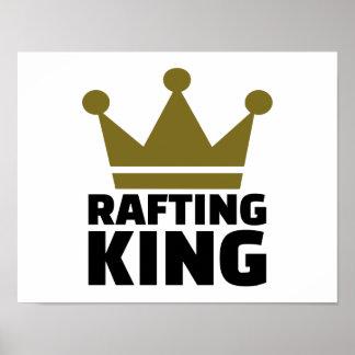 Rafting king poster