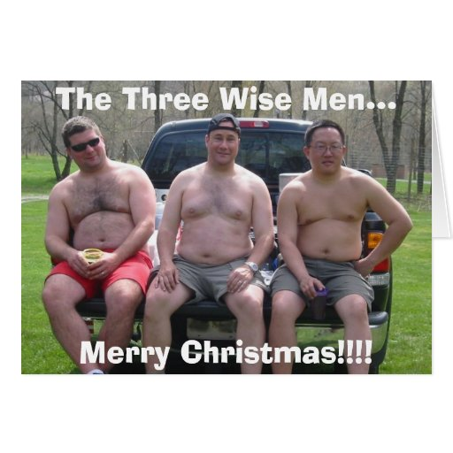 Rafting, Merry Christmas!!!!, The Three Wise Me... Cards
